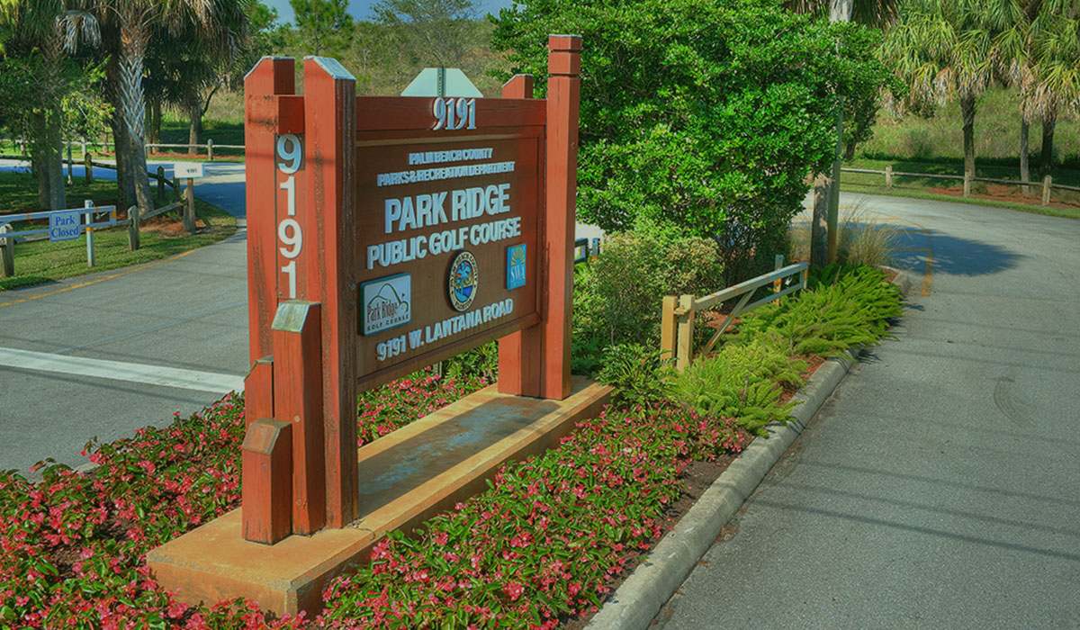 Park Ridge Golf Course - Lake Worth, FL